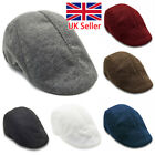 Mens Boys Flat Cap Beret Cabbie Hat Country Peaky Newsboy Golf Driving Caps Hat
