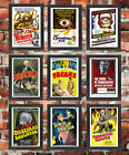Vintage High Quality FRAMED Retro Classic Horror B Movie Monster Film Posters £12.95 GBP on eBay