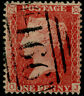 SG40, 1d rose-red PLATE 46, LC14, FINE USED. Cat £18. OJ