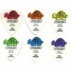 Dunlop Tortex Wedge Plectrums/picks, 424P Player 12 Pack, 0.50mm to 1.14mm