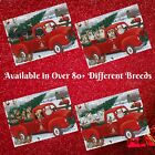 Christmas Santa Express Delivery Red Truck Jigsaw Puzzle Dogs Cats Pet