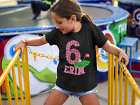 Golf Birthday Shirt -Personalized kids golfer Shirt - Youth Birthday Tshirt Girl