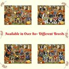 Fall Autumn Festival Gathering Jigsaw Puzzle Dogs Cats Pet Photo games Gift