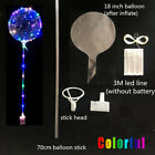 5 10 20 Pack LED Light UP Balloons Party Balloon Birthday Wedding Christmas US
