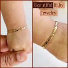 Kyпить Newborn Baby/Childrens Boys/Girls Gold Filled Bracelet, Pulsera Para Bebe Niñas на еВаy.соm