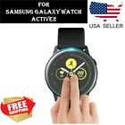 2 pcs Screen Protector TPU Clear Film for Samsung Galaxy Watch Active2 40mm 44mm