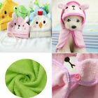Kitten Puppy Dog Bathrobe Cat Shower Blankets Pet Bath Towel Hooded Pajamas