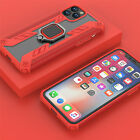 Hybrid Case For iPhone 11 Pro Max Magnetic Ring Holder Shockproof Rubber Cover