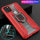 For iPhone 11 Pro Max 11 Shockproof Hybrid Magnetic Ring Holder Stand Case Cover