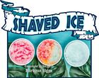 Shaved Ice DECAL (CHOOSE YOUR SIZE) Food Truck Concession Vinyl Sign Sticker
