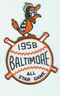 1958 MLB All Star Game Baltimore Orioles Memorial Stadium Jersey Patch on Ebay