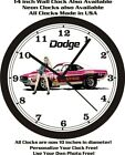 DODGE CHALLENGER BILLY THE KID WALL CLOCK-FREE USA SHIP