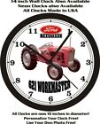 FORD 621 WORKMASTER TRACTOR WALL CLOCK-John Deere, Farmall, International