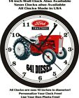 FORD 641 DIESEL TRACTOR WALL CLOCK-FREE SHIP-John Deere, Farmall, International