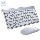 Mini Wireless Keyboard & Mouse Combo Set 2.4G For Mac Apple Android PC Computer