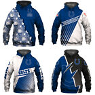 Indianapolis Colts Hoodie 3D Print Sweatshirts Football Training Pullover Jacket $29.44 USD on eBay