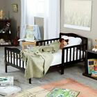 Baby Toddler Bed Solid Wood Be...