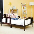 Kyпить Baby Toddler Bed Solid Wood Bedroom Furniture with Safety Rails на еВаy.соm