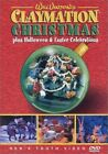WILL VINTON CLAYMATION CHRISTMAS + HALLOWEEN + EASTER CELEBRATIONS New DVD