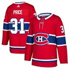Carey Price Montreal Canadiens adidas Authentic Player Jersey Red