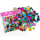 Handmade Shirt Sewing Accessories Sequins Shiny Sewing Earring Jewelry Bags Q