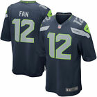 New 12th Man Fan Seattle Seahawks Green Adult Men's Stitched Jersey Blue $49.99 USD on eBay