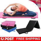 6'x2'x2'' Gymnastic Mat Thick Folding Panel Yoga Exercise Tumbling Fitness Pad image