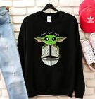 Baby Yoda Star Wars Love Me you Must Yoda Black Sweatshirt $33.99 USD on eBay