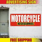 MOTORCYCLE ACCESSORIES Banner Advertising Vinyl Sign Flag shop repair service 24
