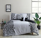 5 Piece Adonisa Gray/Black Comforter Set image