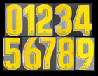2018 2020 OFFICIAL BARCELONA HOME GOLD STADIUM NUMBERS 262mm = PLAYER SIZESpanish Clubs - 112978