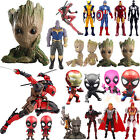 The Avengers Marvel Groot Iron Man Deadpool Action Figure Figurine Collect Toy