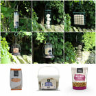 Wild Garden Bird Feeders & Feed Seed Nuts Suet Fat Balls Cake Treat Food Peanuts