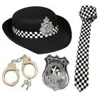 Mens Ladies Policeman Policewoman WPC Cop Fancy Dress Costume Stag Hen Party Fun