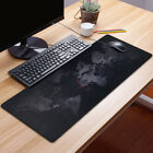 Anti-Slip World Map Gaming Mouse Pads Large Size Mousepad PC Desk Keyboard Mat