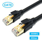 Ethernet Cable CAT8 Ultra High Speed 40Gbps 2000MHz LAN Patch Cord