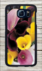 FLOWER CALLA LILY #5 CASE COVER FOR SAMSUNG GALAXY S6 -jyf4X