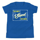 New Home Sweet Home Soccer Pitch Youth Short Sleeve T-Shirt