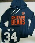 WALTER PAYTON CHICAGO BEARS NFL MENS Hoodie Hoody Jersey SWEATSHIRT BLUE New