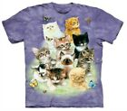 10 Kittens T Shirt Tee Cute Kitty Butterfly Adult Child by The Mountain image