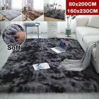 Kyпить Shaggy Fluffy Rugs Anti-Skid Soft Area Rug Room Home Bedroom Carpet Floor Mat на еВаy.соm