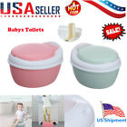 Multi-Stage 3-in-1 Kids Potty Training Seat Toilet Chair for Child Toddler US image