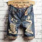 Classic Fashion Men Summer Straight Slim Short Jeans Pants Denim Shorts Trousers