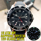 100M Water Resistant GMT Automatic Watch Diving Sea master Diver 300M Style image