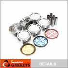 Pistons and Rings fit Acura Isuzu 6VE1 3.5L V6 DOHC 24V