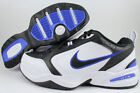 NIKE AIR MONARCH IV 4 EXTRA WIDE 4E EEEE BLACK/WHITE/ROYAL BLUE TRAINER MEN SIZE