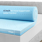 BedStory Gel Memory Foam Mattress 12Inch CertiPURUS TWIN FULL QUEEN KING CK Bed