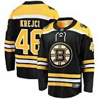 David Krejci Boston Bruins Fanatics Branded Home Breakaway Player Jersey Black