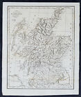 1795 Aaron Arrowsmith Original Antique Map Scotland