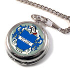 Coats of Arms Family Crests Pocket Watch (Optional Engraving)